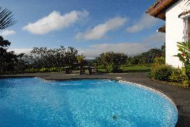 Costa Rica Vacation Home for Rent:  Lake view from Casa Gavilan